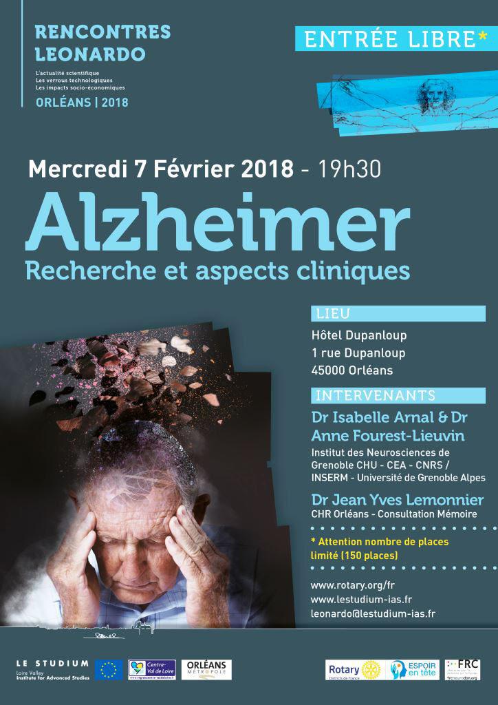 Orléans : conférence sur la maladie d'Alzheimer - Fédération pour la ...